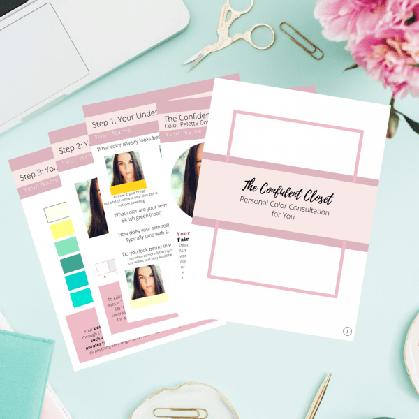 the personal color consulation will help you feel more confident choosing your mom outfits