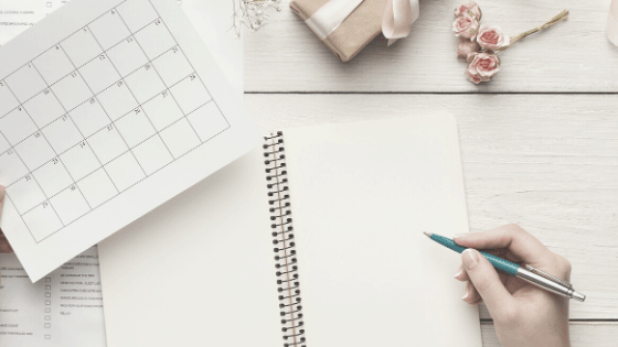 Planning your meals a month at a time is a great way to save time
