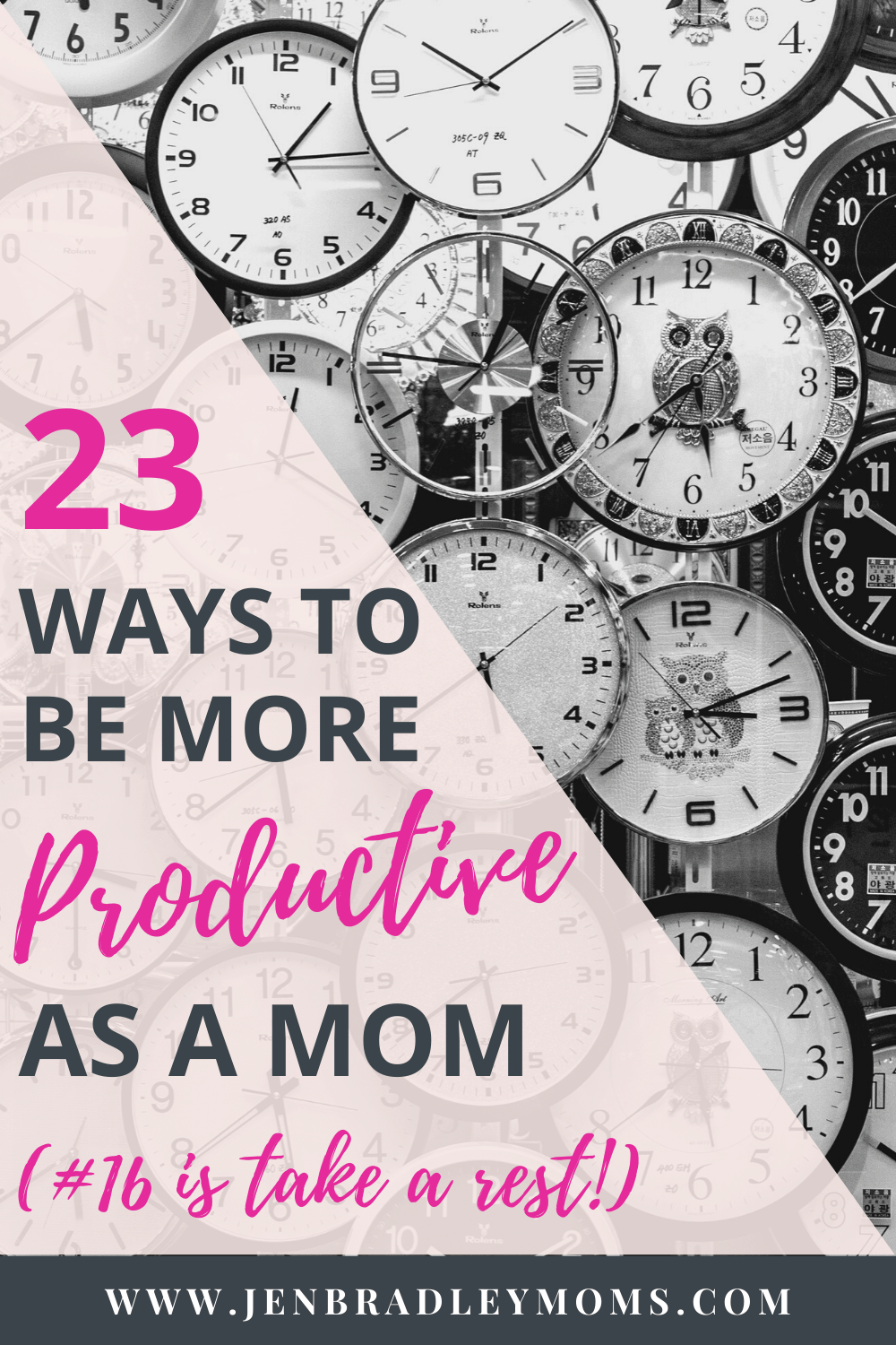 How to Be More Productive as a Mom