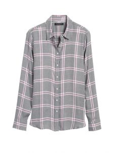 Plaid flannel shirt from Banana Republic
