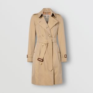 The iconic Burberry trench coat is the epitome of classic style