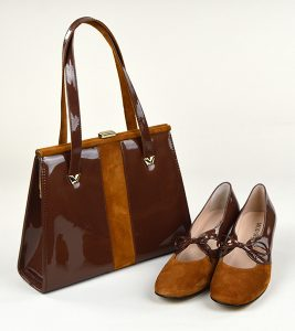 Matching shoes and handbag from mod-shoes.com