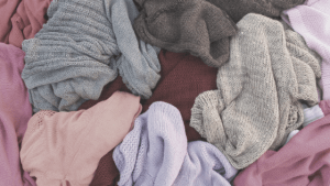 There are several reasons why we hold onto clothes.