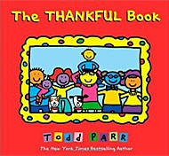 The Thankful Book by Todd Parr