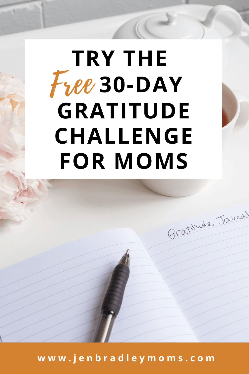 Try the Perfect 30-Day Gratitude Challenge for Moms