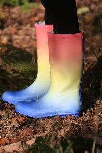 Some things we wear rarely are worth holding onto, like rain boots.