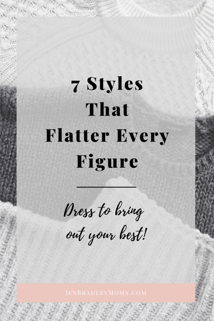 Choose from these 7 styles that flatter every figure and you will feel confident that you've made a good choice!