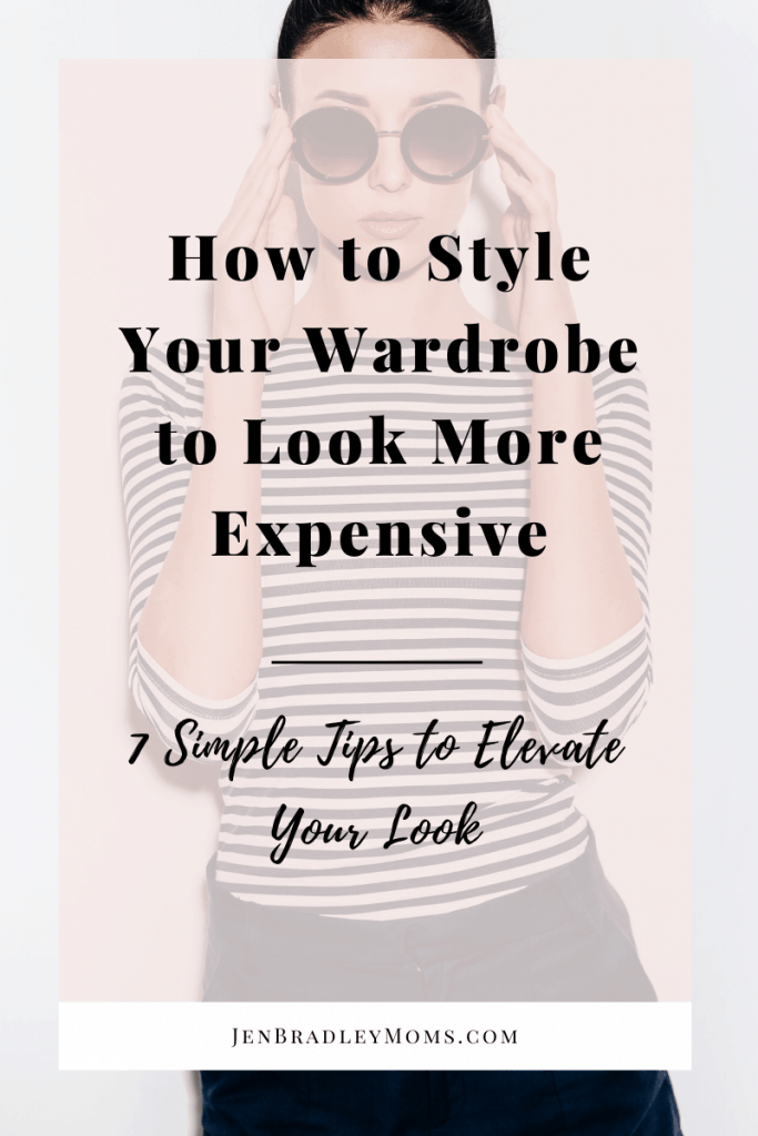 Learning how to style your wardrobe to look more expensive is easier than you might think!