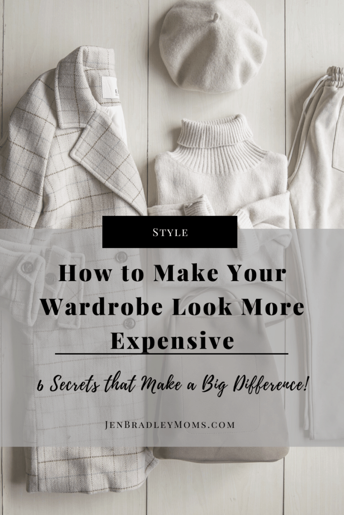 Which of these six tips will you try to make your wardrobe look more expensive?