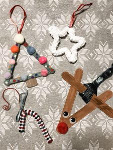 Making homemade ornaments is one of our favorite Christmas traditions.
