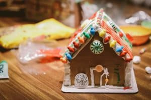 Making individual gingerbread houses is another of our favorite Christmas traditions.