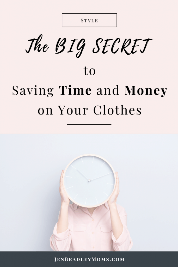 Saving time is a huge benefit of a capsule wardrobe.