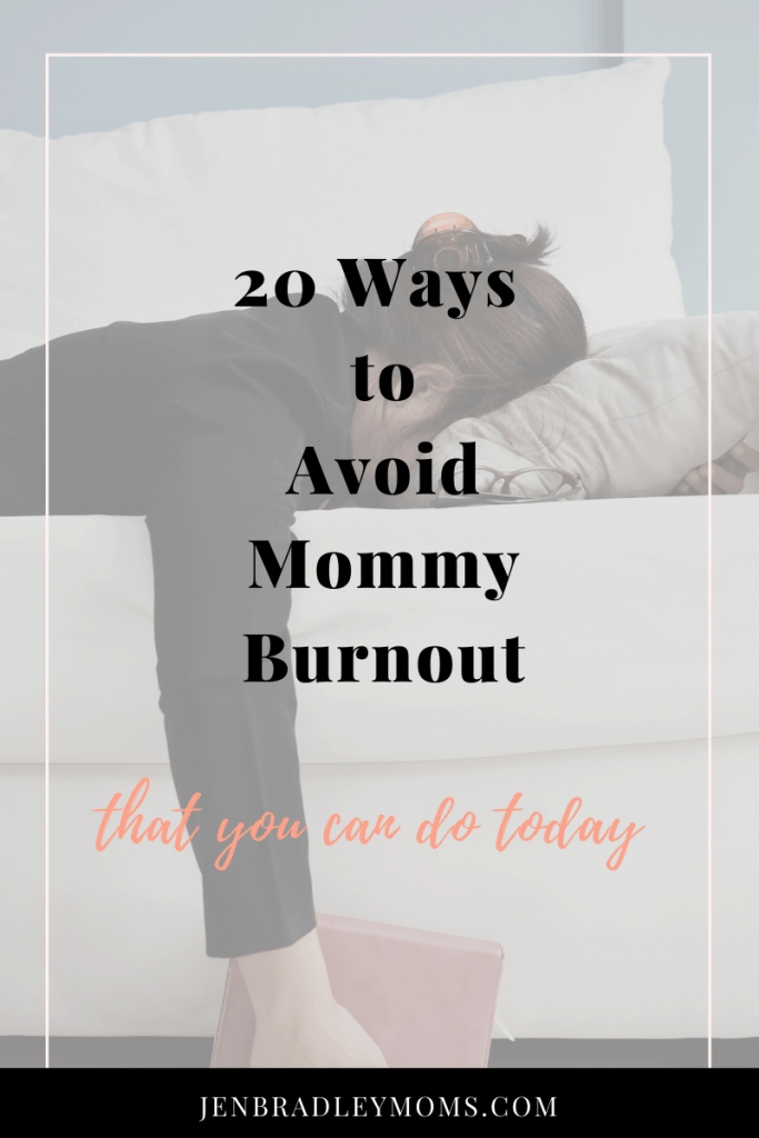 We all want to avoid mommy burnout!