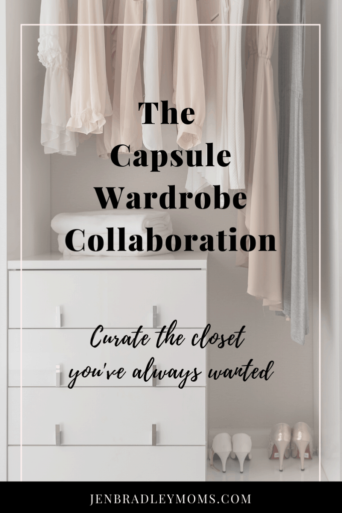 The capsule wardrobe collaboration is a game changer for moms!