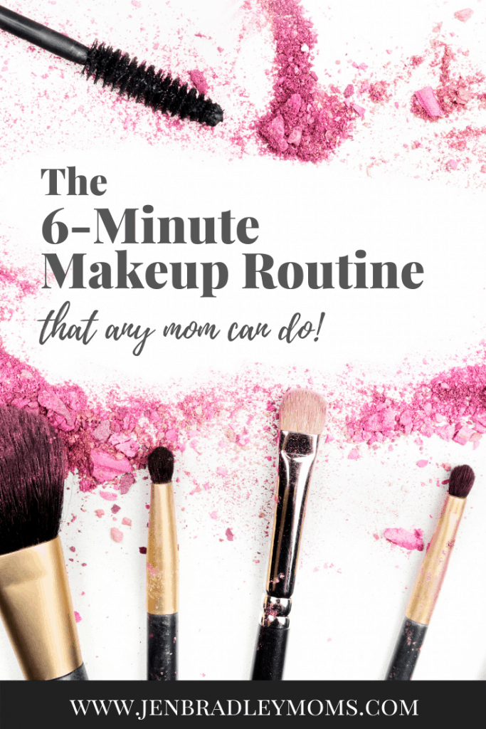 This 6-minute makeup routine is a big time saver!