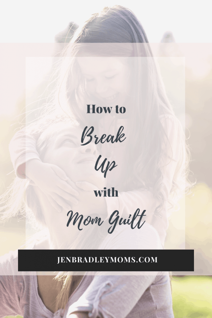 Breaking up with should means breaking up with mom guilt
