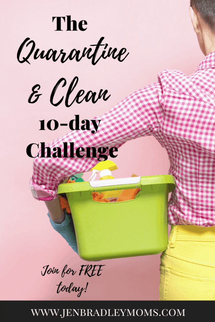 This 10-day spring cleaning challenge is perfect to do while we're staying at home!