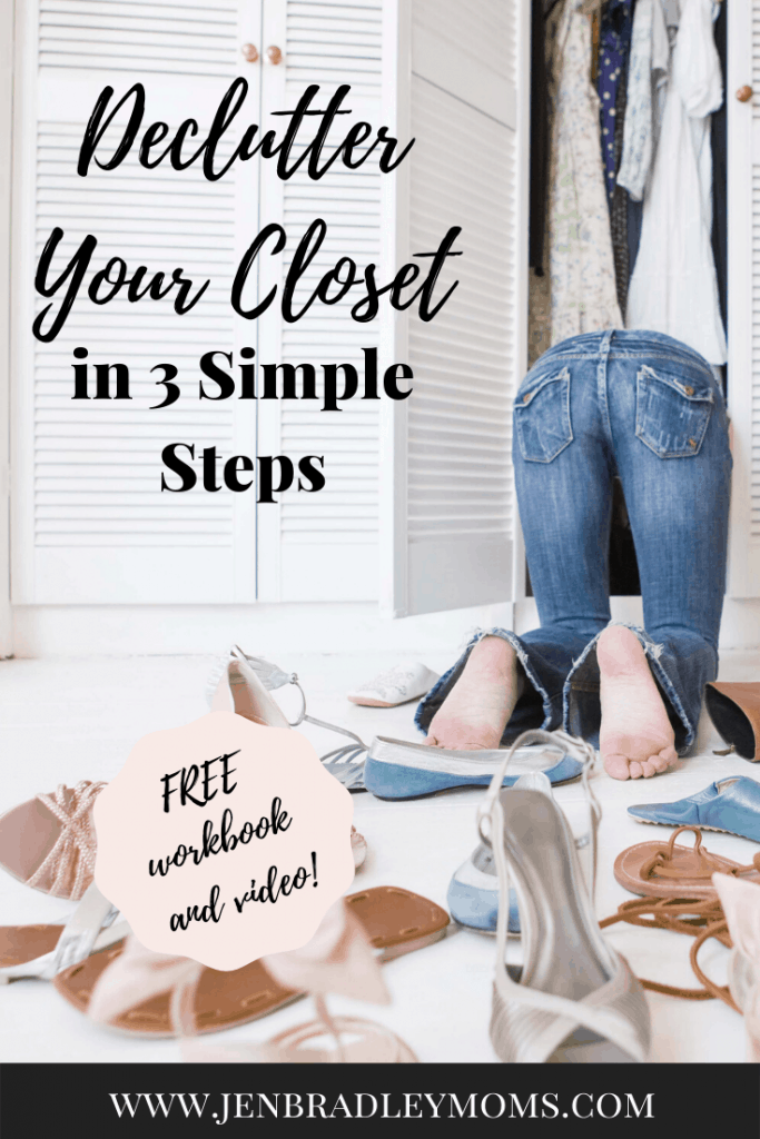 Decluttering your closet in 3 simple steps will have great benefits for you!