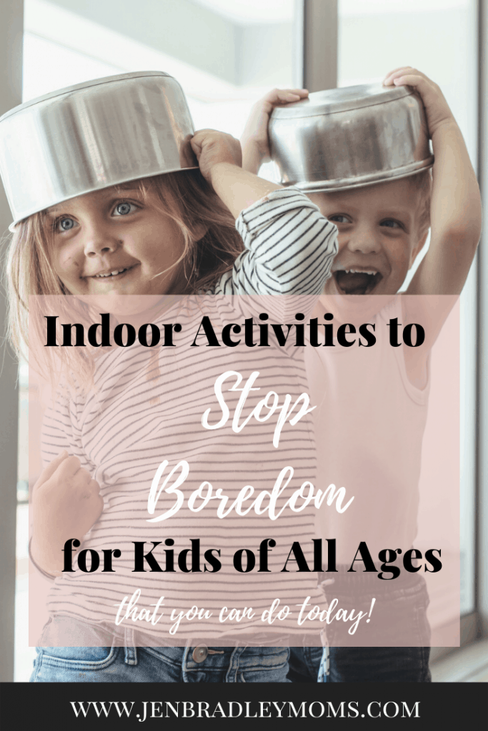 Indoor activities for kids of all ages can be hard to find!