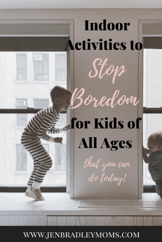 indoor activities for kids of all ages that you can do today