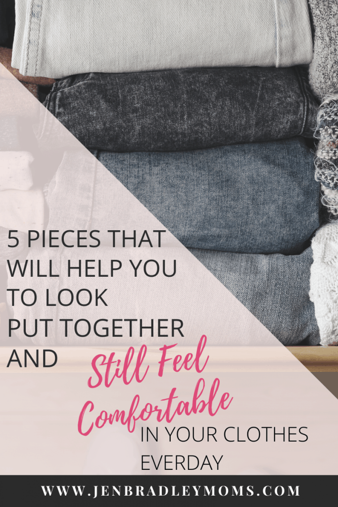 5 pieces that will help you look put together and still feel comfy everyday