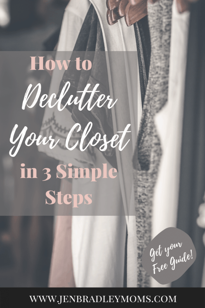 I'm excited to teach you how to declutter your closet in a very simple way!