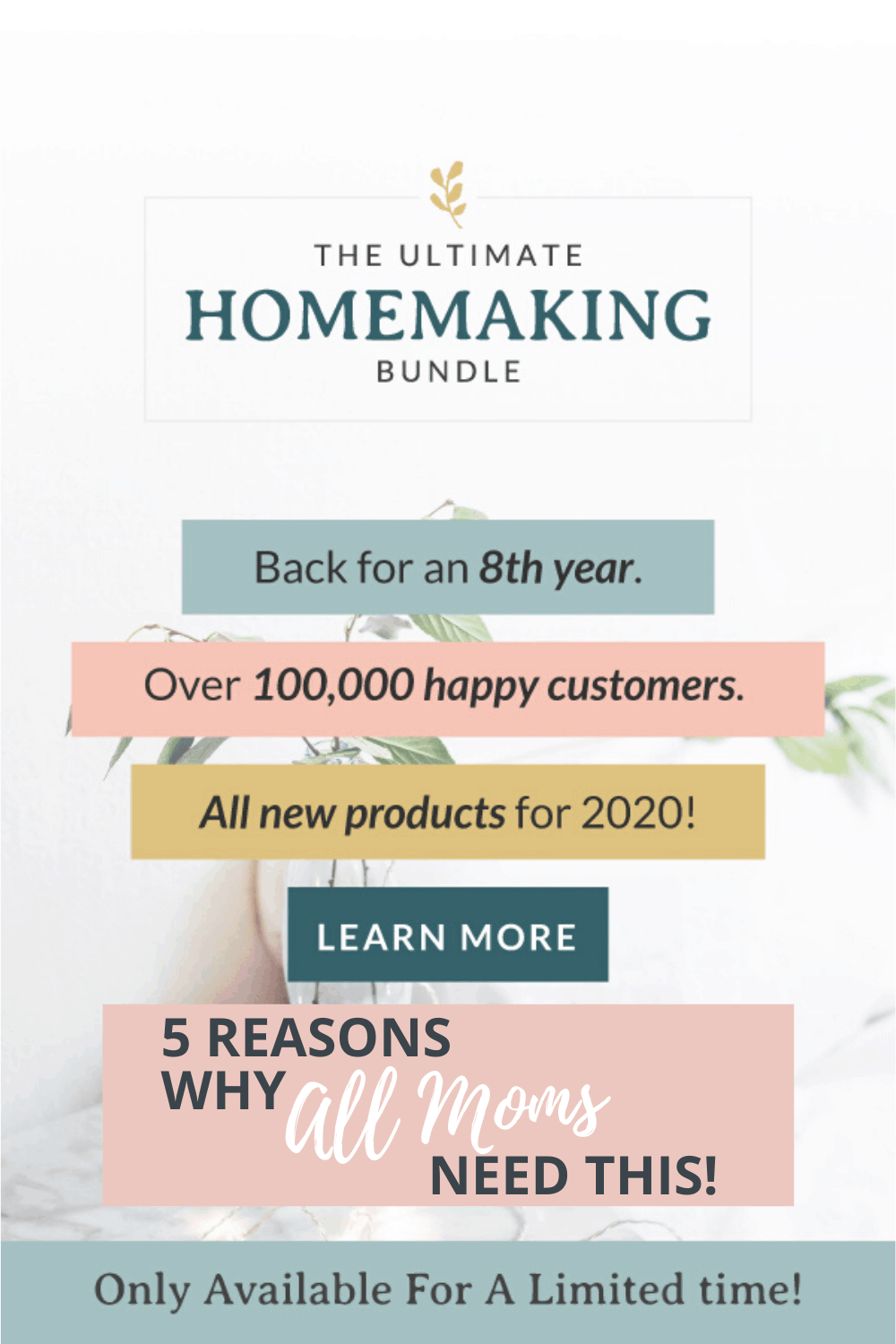 5 Reasons Why Every Mom Needs the Ultimate Homemaking Bundle