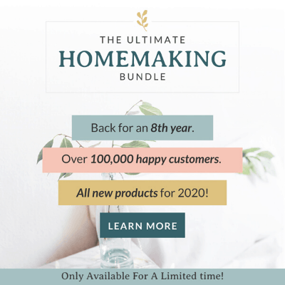 you can be a happy modern homemaker!