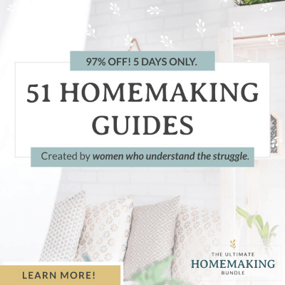 the ultimate homemaking bundle is worth every penny