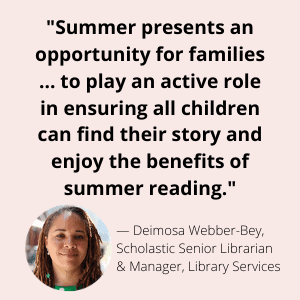 reading is one of the most important aspects of summer learning