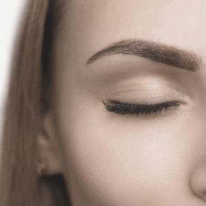 eyebrows should look like sisters - not twins!
