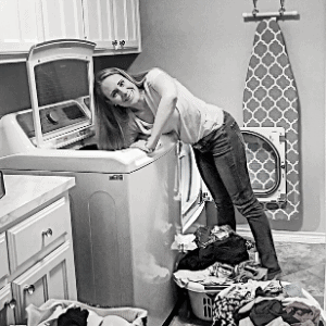 Friday is laundry day