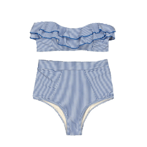 this swimsuit for moms is so cute!