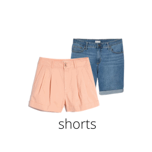 short are an essential capsule wardrobe item for summer