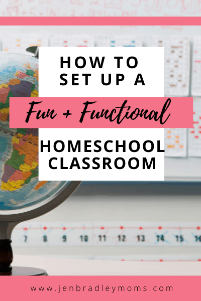 a globe is an essential item for your homeschool classrroom