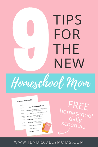 these 9 homeschooling tips will help you get your homeschool started smoothly
