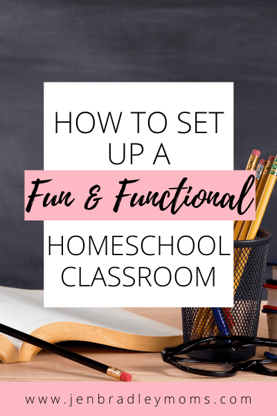 you can set up a great homeschool classroom with just a few important elements