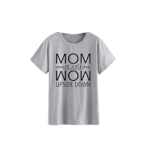 gray graphic tee for fall capsule wardrobe