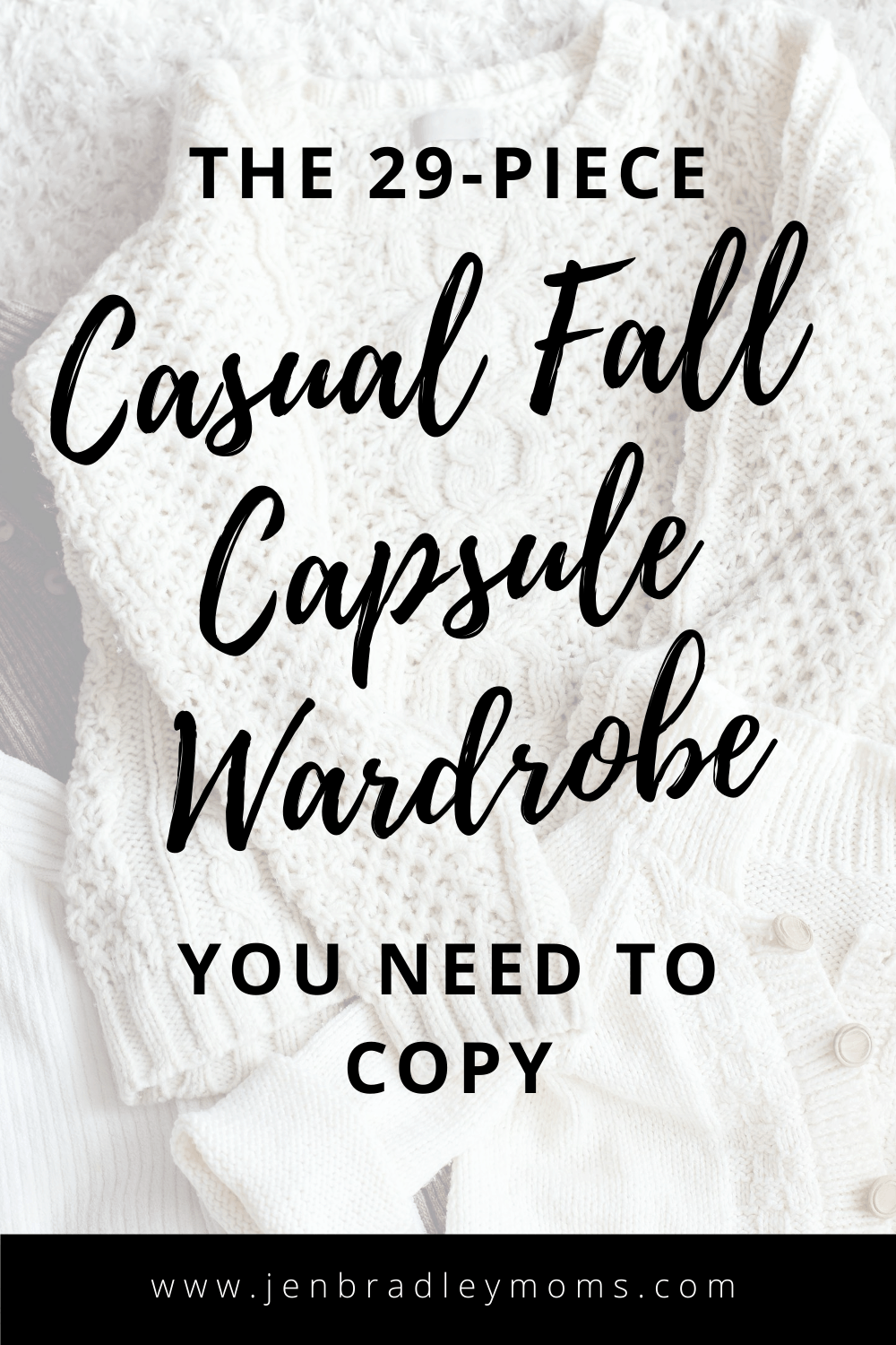 The Best 29-Piece Capsule Wardrobe for Fall You Need to Copy