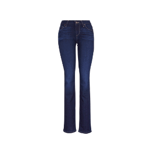 dark straight jeans are great for a fall capsule wardrobe