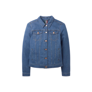 denim jacket for fall capsule wardrobe