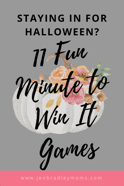 these halloween minute to win it games are our family favorites