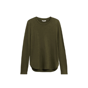 olive green tunic for fall capsule wardrobe 2020