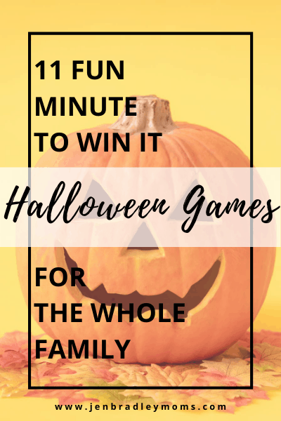halloween minute to win it games are simple and easy to assemble and play