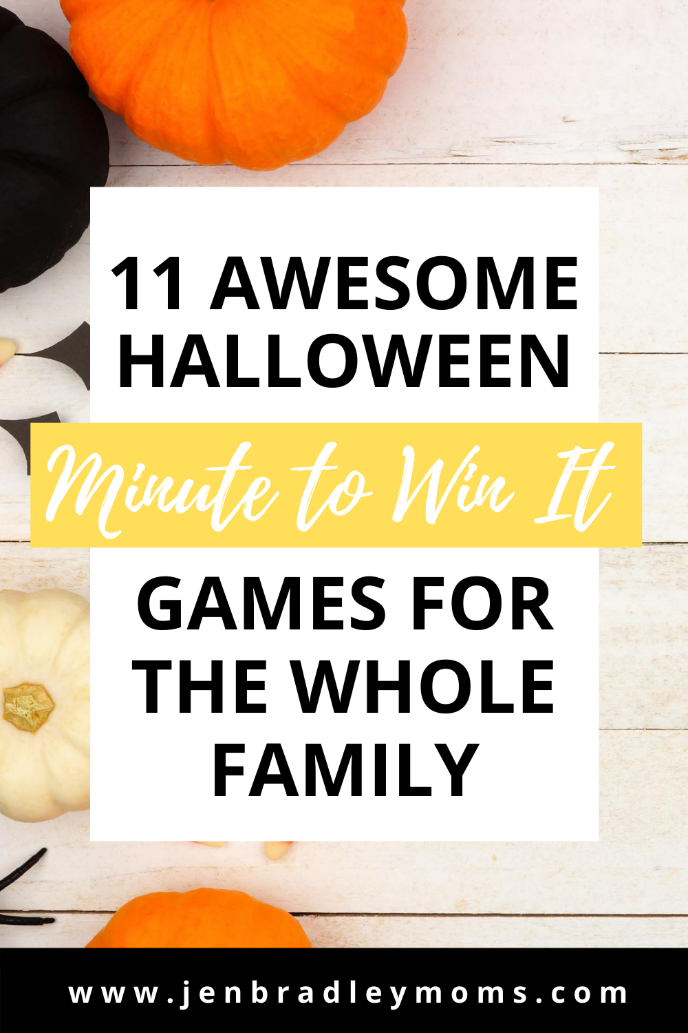 11 Awesome Halloween Minute to Win It Games for Your Family