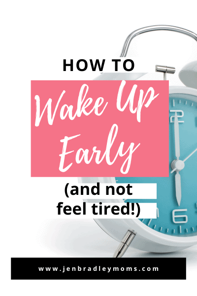 one tip to wake up early is to put your alarm across the room