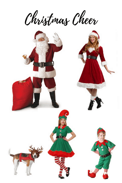 Christmas costumes for Halloween