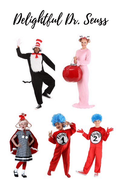 a Dr. Seuss family Halloween costumes are sure to be a hit