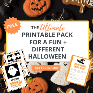 Halloween switch witch and boo printables