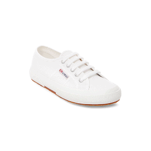 white sneakers are a capsule wardrobe essential